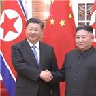 발전,중국,조중,친선관계