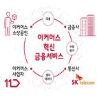 이커머스,소상공인,개발,금융,SK텔레콤