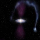 우리은,폭발,블랙홀,연구,350만