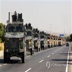 터키,군사작전,대응,쿠르드족,시리아