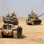 터키,시리아,터키군,만비즈,북동부,국경,정부군,쿠르드,공격,이후