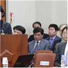 의원,처장,선서,거부,증언,고발,국회,한국당