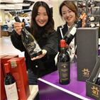 와인,롯데백화점,창립,샤또,최대