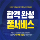 시험,에듀윌,공인중개사,종료