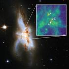 은하,관측,합병,초대질량블랙홀,동시