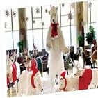 크리스마스,사진,호텔,서울,산타클로스,동물,남길,로비,모형