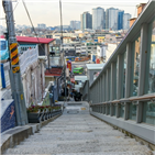 서울,해방촌,우미관,소설,풍경,골목,사람,동네,청계천,천변