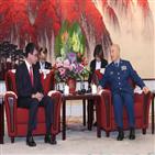 중국,일본,방위상,고노,협력,국방,구축