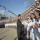 중국,항모,산둥함,대만,랴오닝함,함장,전단,미국,투입,인민해방군