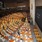 필리버스터,한국당,의원,민주당,법안,패스트트랙,진행,본회의,선거법,임시국회