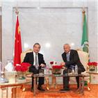 중국,아랍,이란,국제,이집트,협력