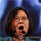 대만,중국,총통,차이,홍콩,작년,대만인,압박,일국양제,독립