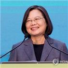 중국,대만,총통,차이잉원,매체,구축함,선거,재선,대한,민진당