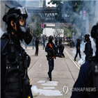 경찰,홍콩,전략,시위대,시위,시민,집회