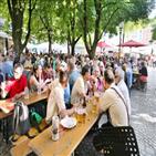 시장,맥주,빅투알리,소시지,뮌헨,상인,가게,뮌헨시,사람,당국