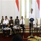 인도네시아,신종코로나,중국,바이러스,정부,대통령,가능성