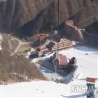북한,스키장,스키,중국,리조트,마식령,관광객,기후,블룸버그