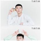 박서준,배우,광고,뷰티,브랜드,티르티르