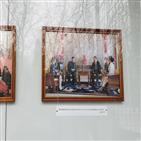 사진,시진핑,김정은,북한,주석,지난해,위원장