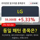 LG,기관,순매매량,기사,하락