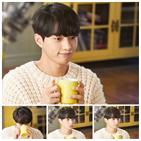 우유,홍조,김명수,촬영,감정,수염