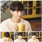 우유,홍조,김명수,수염,촬영,감정