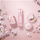 화장품,벚꽃,사람,브랜드,신제품,계열