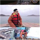 이경규,스토,전복,완도,바다,새벽