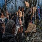 난민,터키,그리스,국경,유럽,코로나19,정부,약속,문제,총리