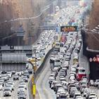서울,구간,고속도로,2일,방향