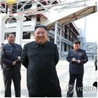 위원장,북한,보도,모습,건강이상설,준공식,공개,국내,사진