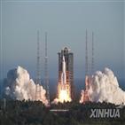 창정,중국,발사,5B,성공,우주정류장,로켓