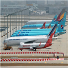 노선,운항,코로나19,국제선,다음달,항공업계,재개,항공사,대한항공,수요