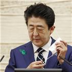 아베,총리,내각,지지,정권,평가,일본,가운데,실시,조사