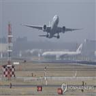 중국,항공편,한중,노선,대사