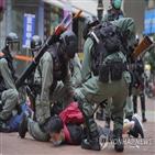 홍콩,세력,외국,홍콩보안법,장관