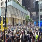 홍콩,입법회,시위,시민,홍콩보안법,심의,중국,국가법,이날,경찰
