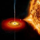 블랙홀,제트,분출,물질