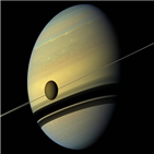 타이탄,지구,토성,위성,결과,연간