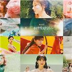 우주소녀,뮤직비디오,네버랜드,버터플라이,컴백,나비,분위기,세계