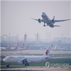 중국,항공사,운항,노선,미국,재개,코로나19