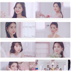 위클리,영상,콘셉트,데뷔,트레일러,멤버