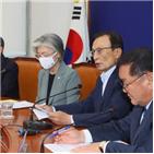 북한,장관,민주당,회의,정부,참석