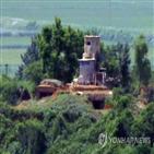 북한군,민경초소,투입,DMZ,북한,일부,근무