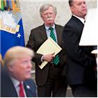 리비아,볼턴,모델,북한,트럼프,카다피,미국,정권,포기,이후