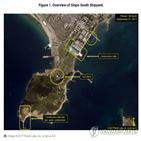 북한,길이,물체,소형잠수정,신포조선소,38노스,가능성