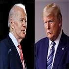 포인트,바이든,트럼프,여론조사,대통령