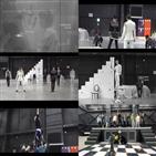 더보이즈,킹덤,공개,경연,연습