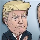 포인트,트럼프,바이든,여론조사