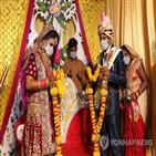 신랑,결혼식,감염,코로나19,인도,확진,당국